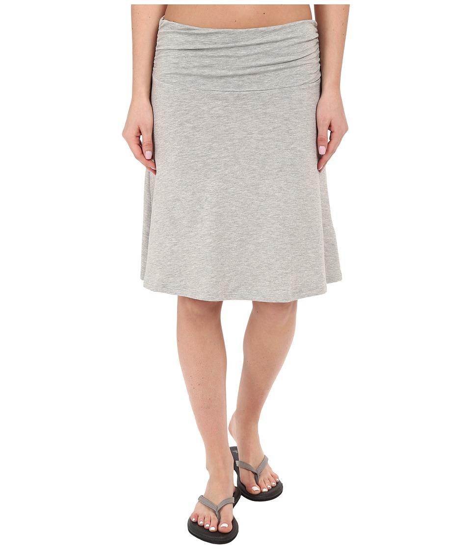 Toad&Co - Chaka Skirt (Heather Grey) Women's Skirt