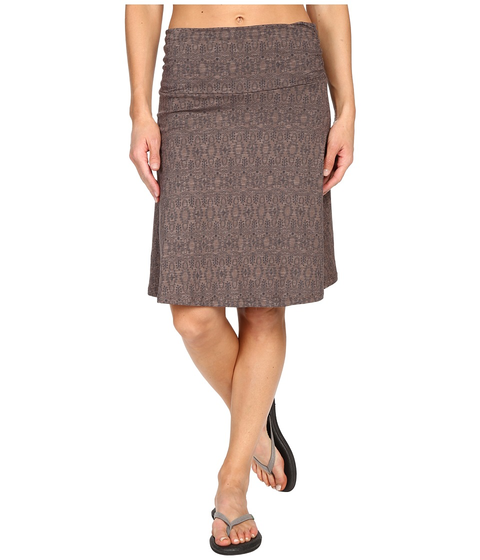 Toad&Co - Chaka Skirt (Falcon Brown Tapestry Print) Women's Skirt