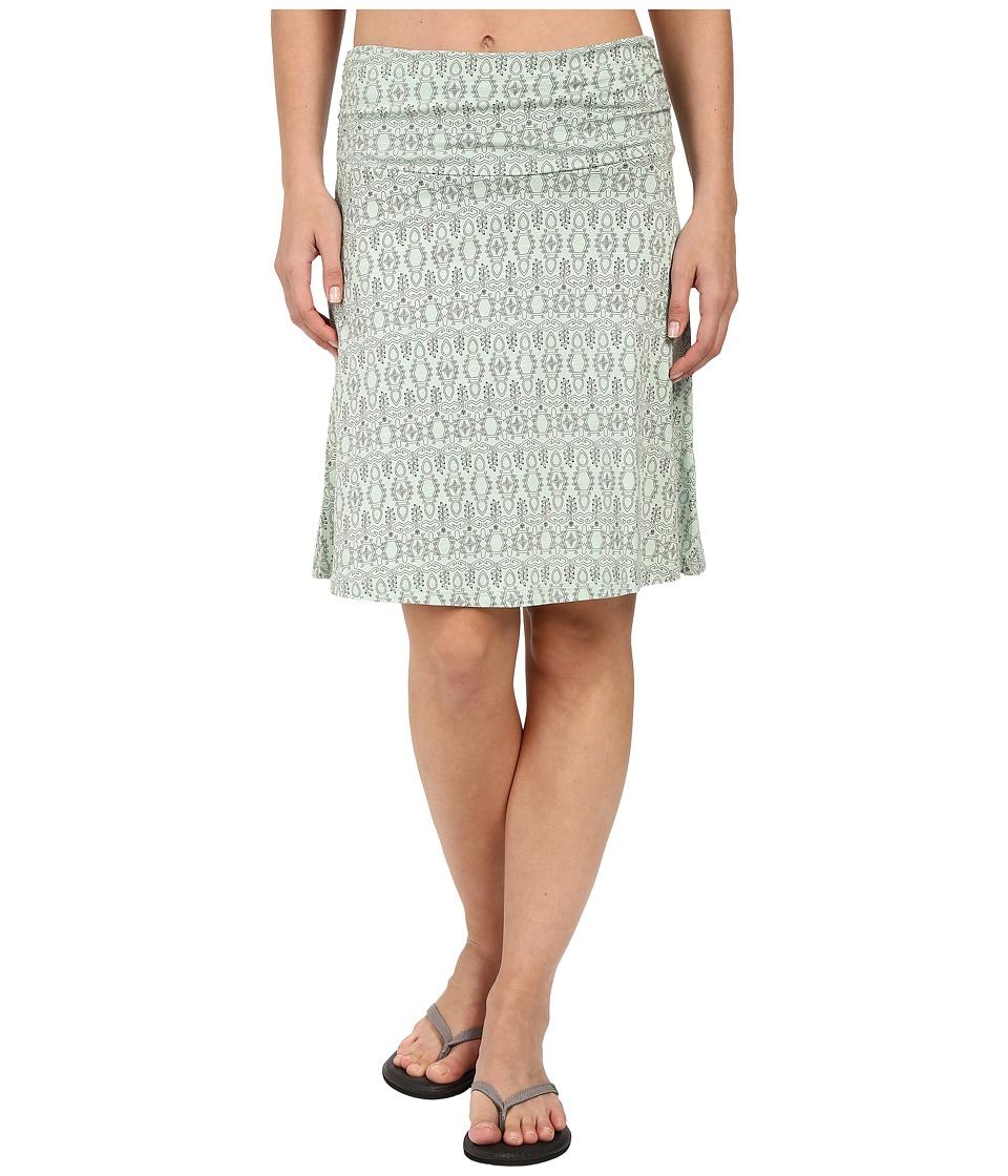 Toad&Co - Chaka Skirt (Pistachio Tapestry Print) Women's Skirt