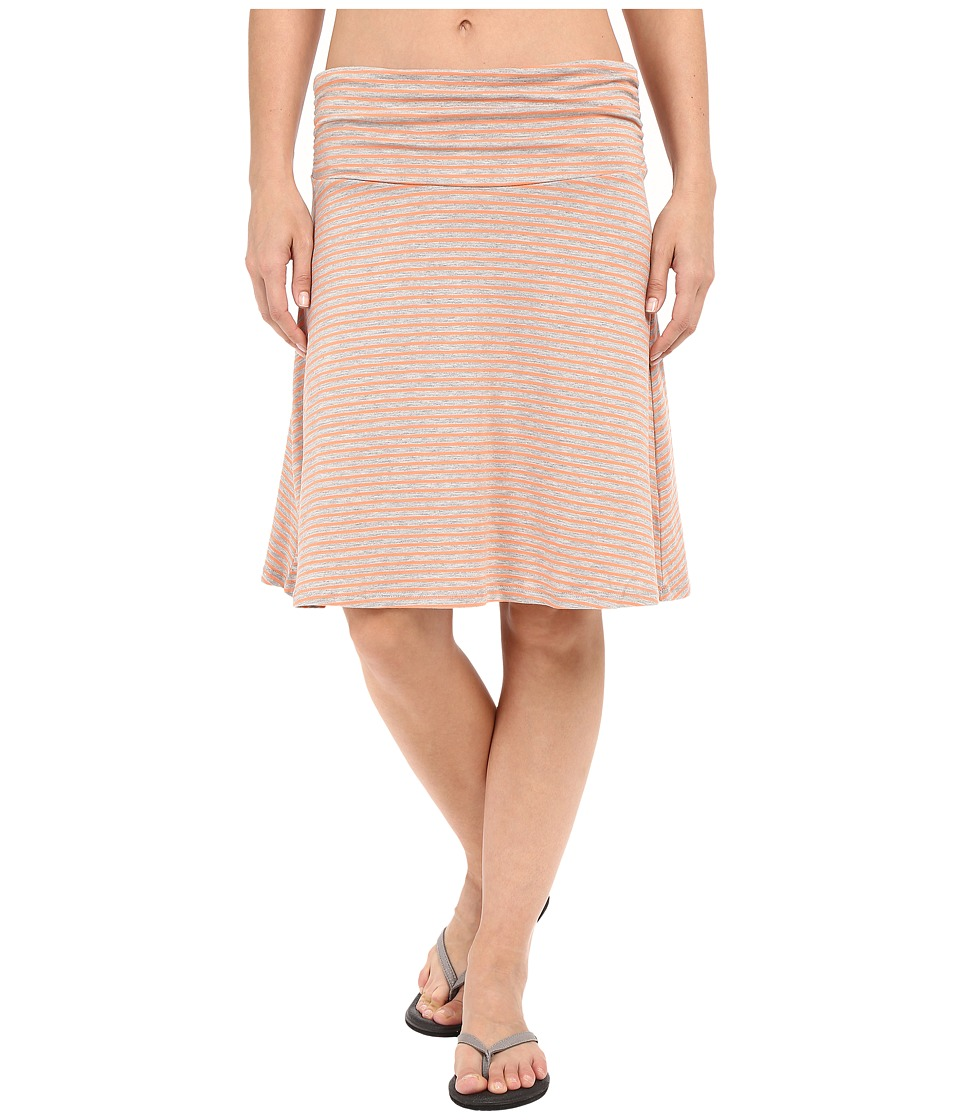 Toad&Co - Chaka Skirt (Melon Stripe) Women's Skirt