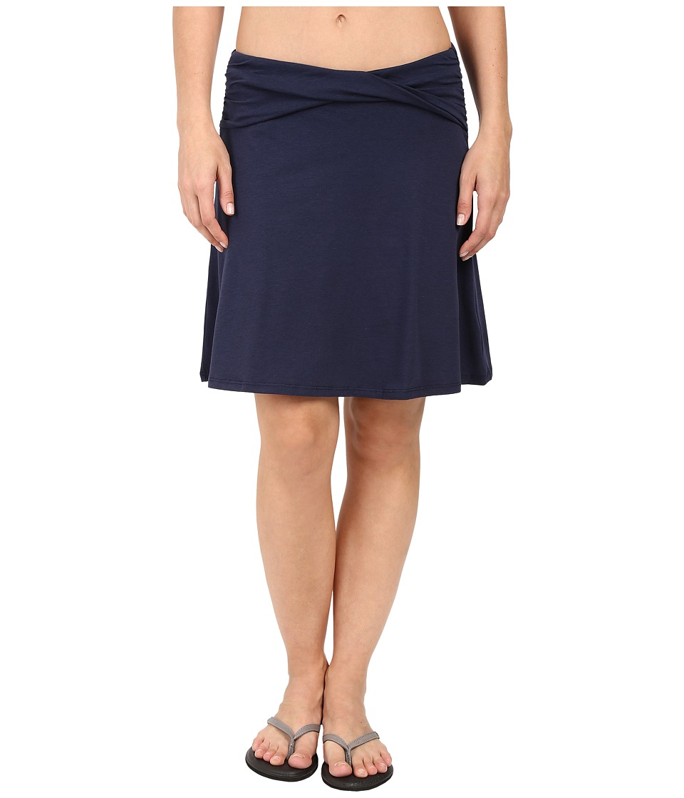 Toad&Co Twila Skirt (Deep Navy) Women
