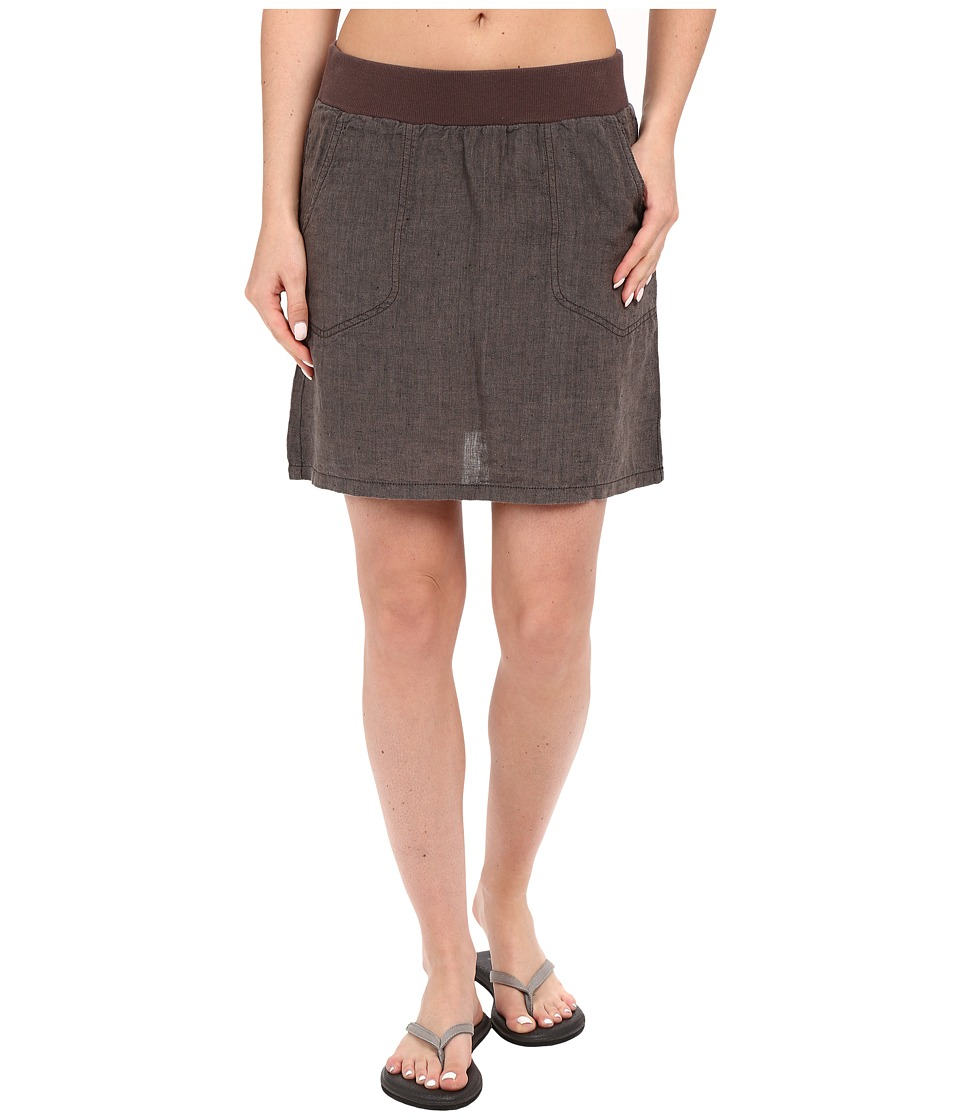 Toad&Co - Lina Skirt (Falcon Brown) Women's Skirt