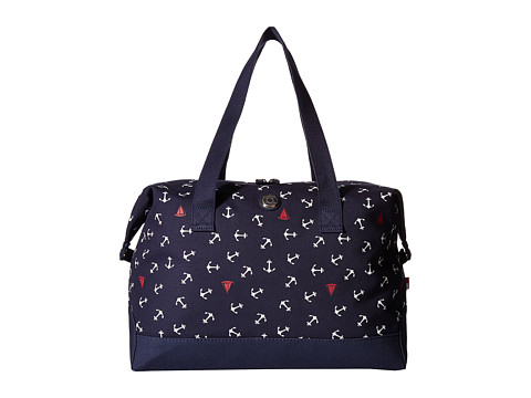 tommy hilfiger canvas toss anchor weekender navy duffel bags. Black Bedroom Furniture Sets. Home Design Ideas
