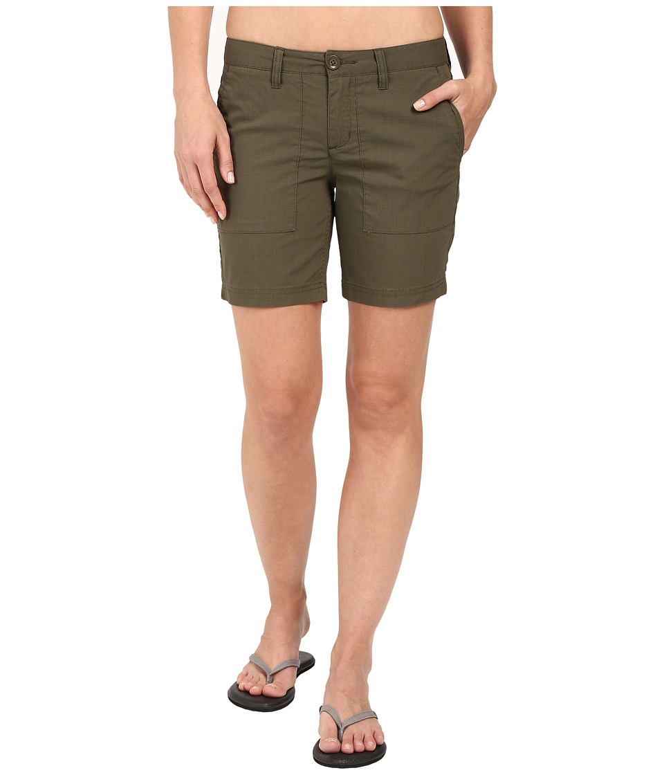 Toad&Co - Bristlecone Shorts (Dark Moss) Women's Shorts