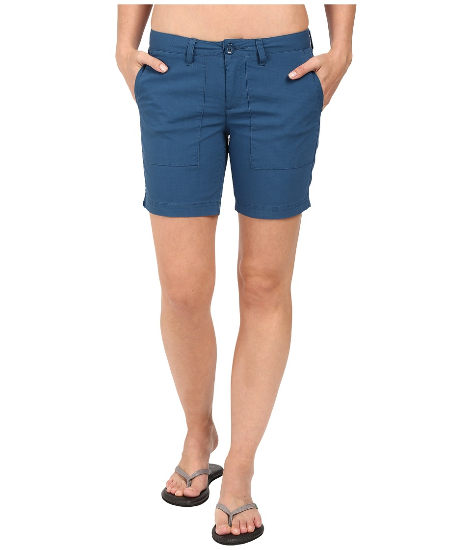 Toad&Co - Bristlecone Shorts (Inky Teal) Women's Shorts
