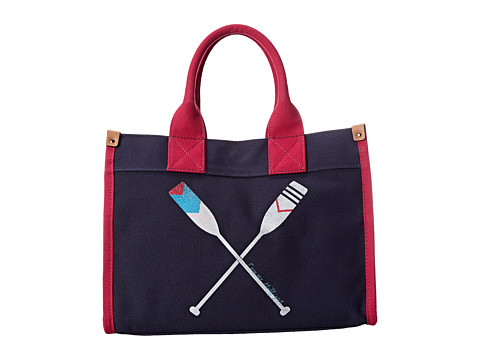 Tommy Hilfiger - Paddles Medium Tote (Navy) Tote Handbags
