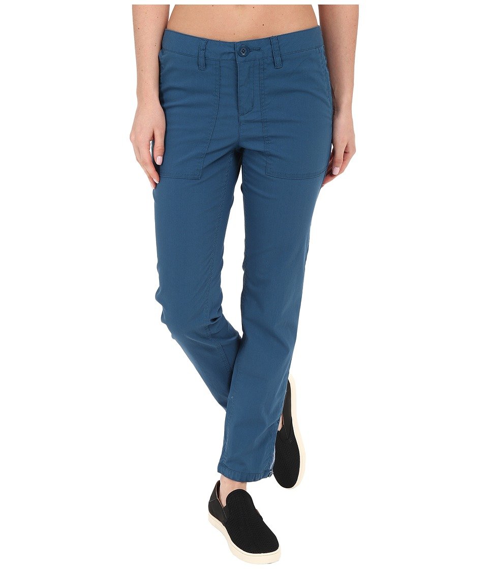 Toad&Co - Bristlecone Pants (Inky Teal) Women's Casual Pants