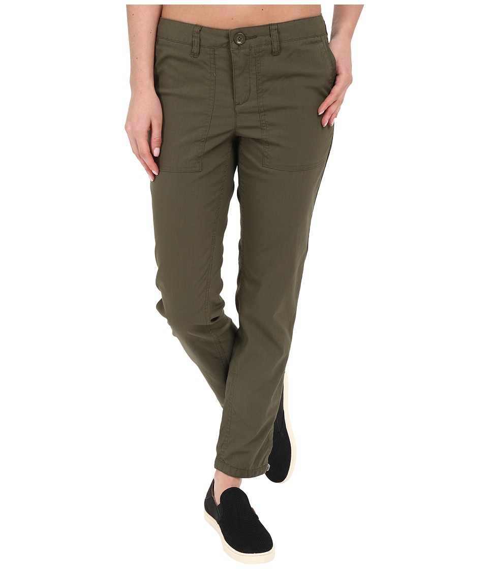 Toad&Co - Bristlecone Pants (Dark Moss) Women's Casual Pants