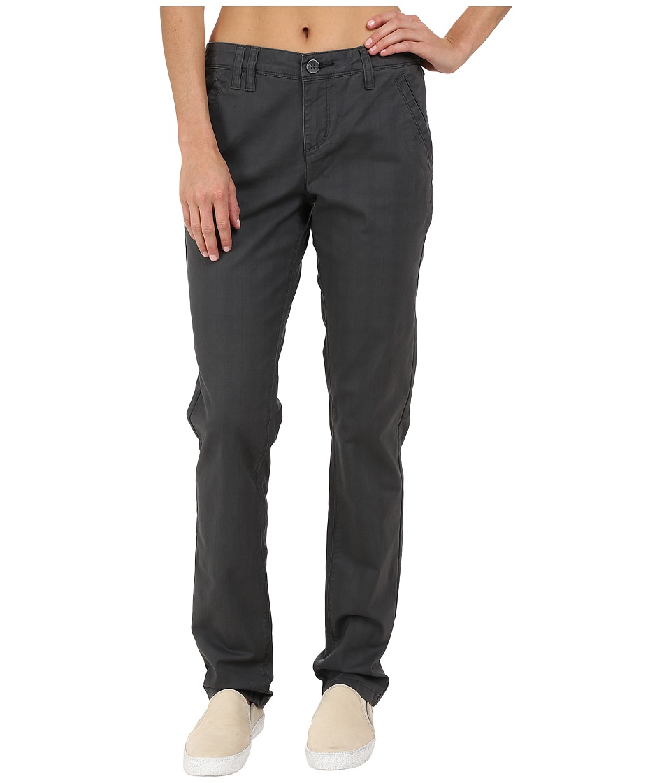 Toad&Co - Checkpoint Pants (Dark Graphite) Women's Casual Pants