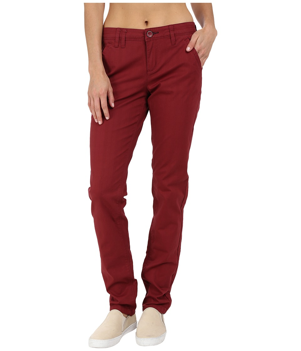 Toad&Co - Checkpoint Pants (Redwood) Women's Casual Pants