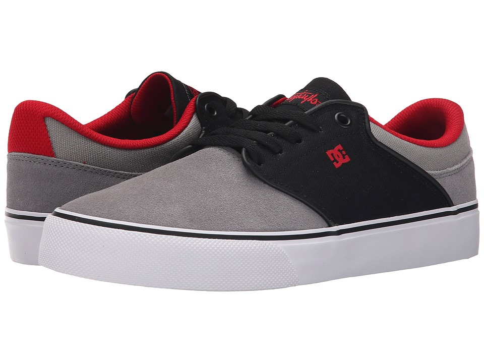 DC - Mikey Taylor Vulc (Black/Grey/White) Men's Skate Shoes