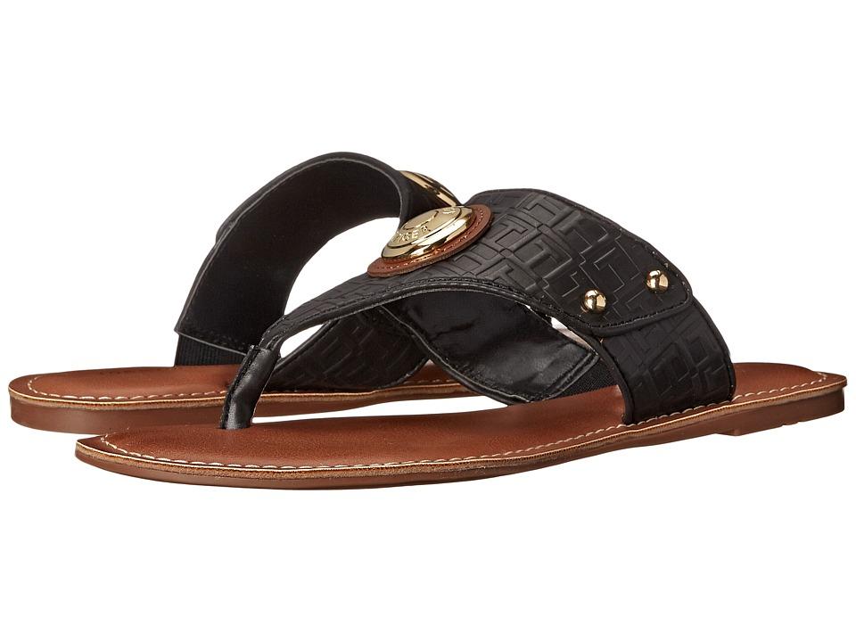 Tommy Hilfiger - Lelani (Black/Montana/Black) Women's Sandals