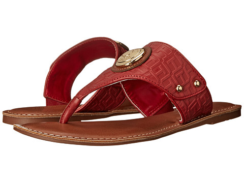 Tommy Hilfiger - Lelani (Glam Red/Montana/Glam Red) Women's Sandals