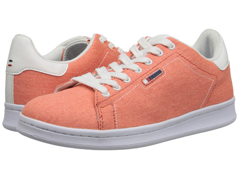 Tommy Hilfiger - Suzane (Coral/White/T Canvas/Delikates) Women