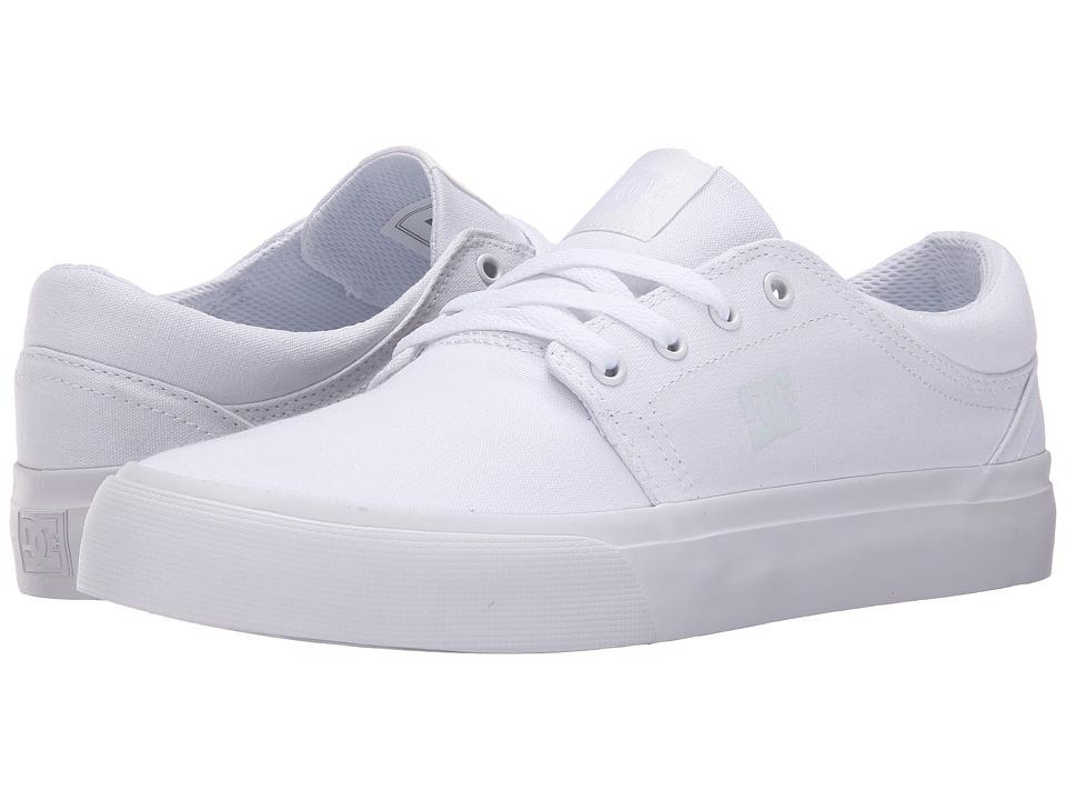 DC - Trase TX (White 2) Skate Shoes