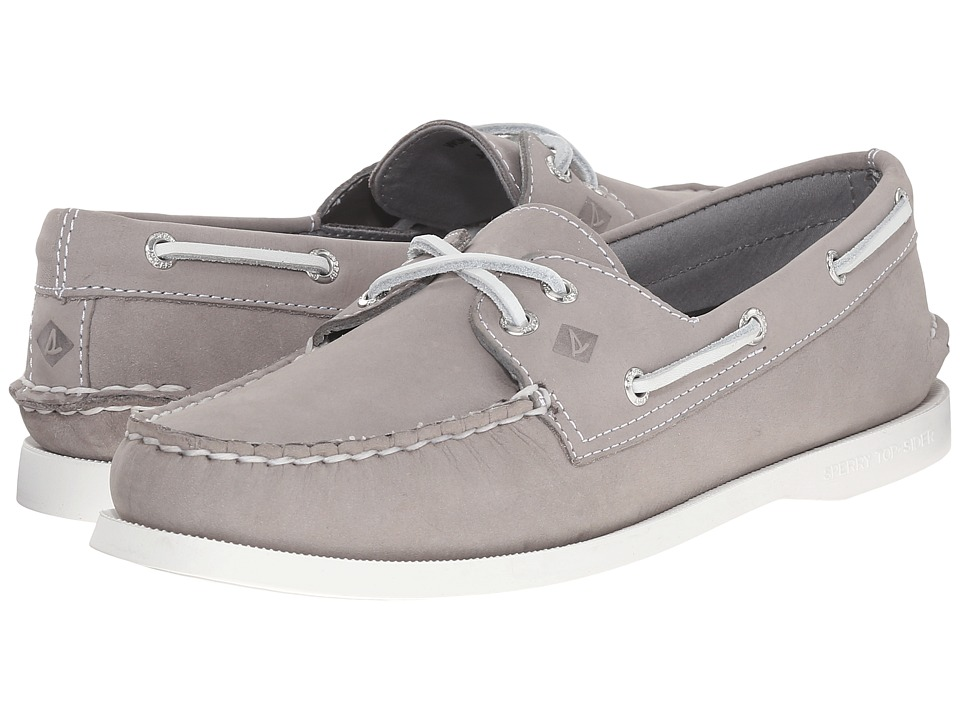 Sperry Top-Sider A/O 2-Eye Leather (Grey) Women
