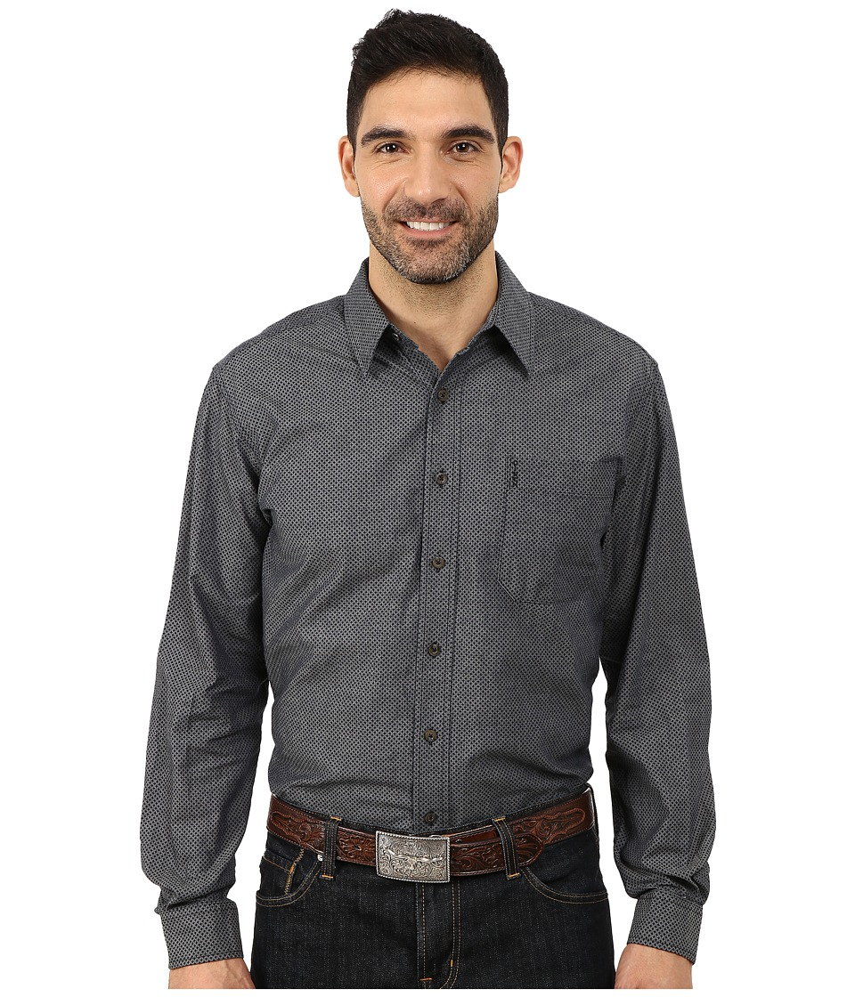 Cinch - Modern Fit Printed Denim (Navy) Men's Clothing