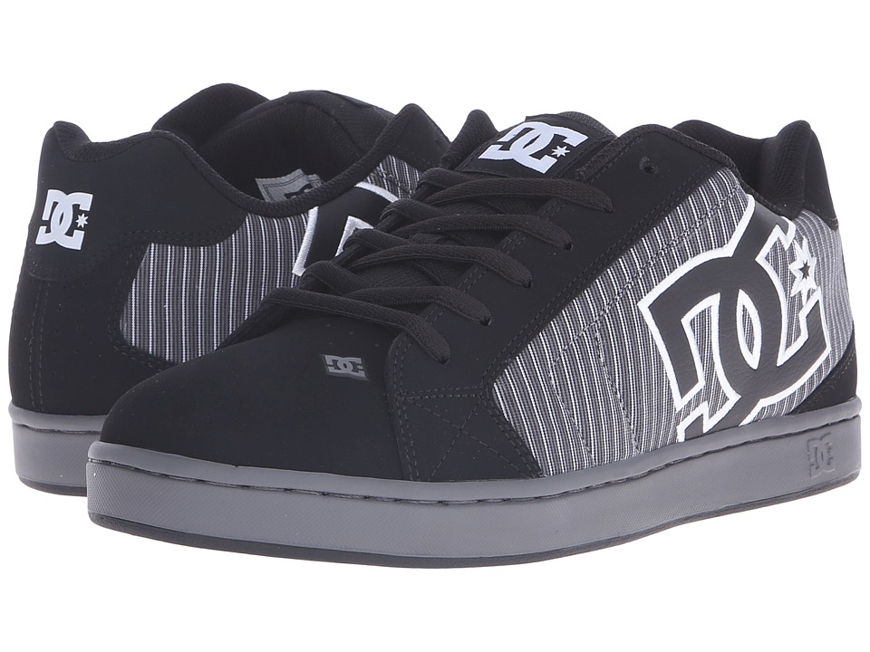 DC Net SE (Black/Pinstripe) Men