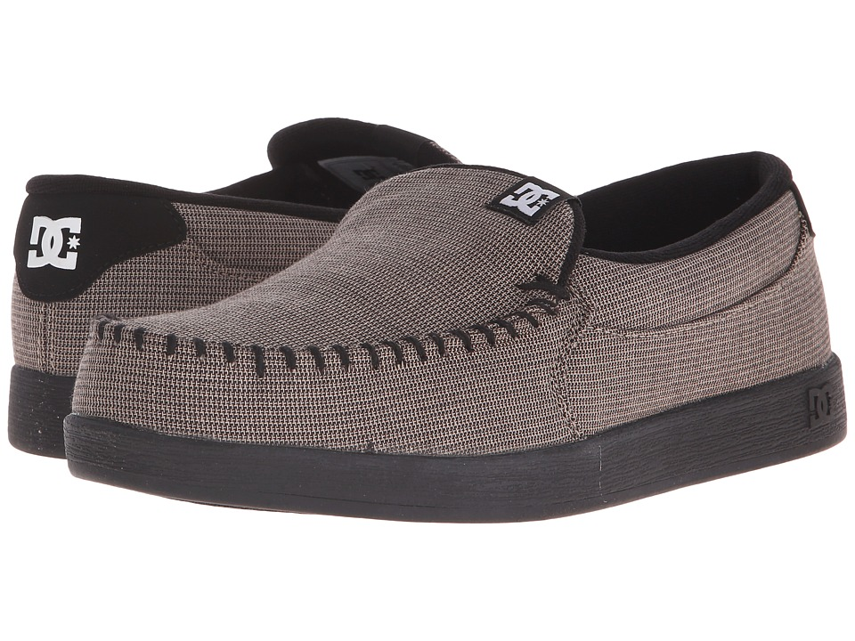 DC - Villain TX (Grey/Black/Black) Men's Skate Shoes