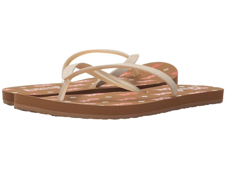 Reef - Stargazer Prints (Coral Pineapple) Women's Sandals