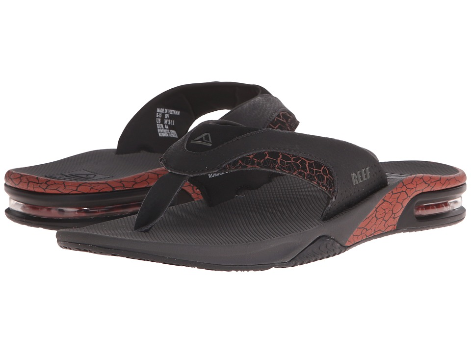 Reef - Fanning Prints (Picante Crackle) Men's Sandals