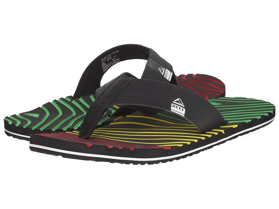 Reef - Thermoslice (Rasta) Men's Sandals