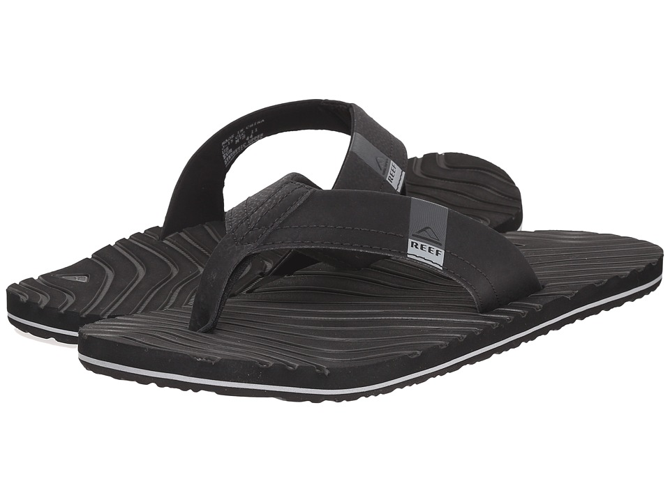 Reef - Thermoslice (Black/White) Men's Sandals