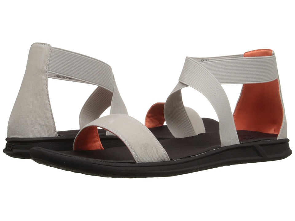 Reef - Rover Hi (Silver Grey) Women's Sandals