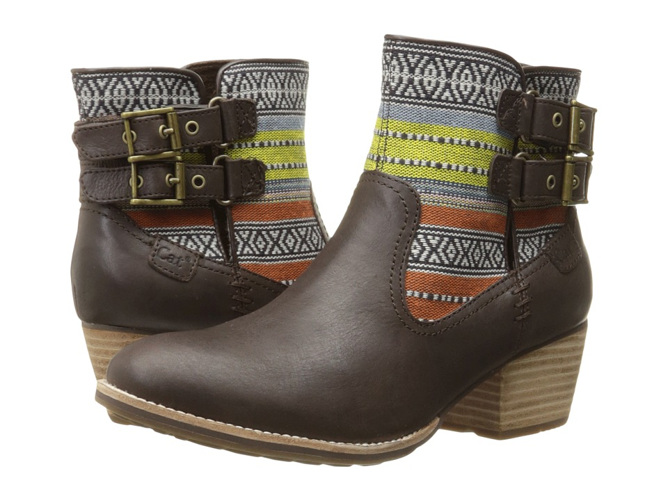 Caterpillar Casual - Willa Canvas (Mulch Tribal) Women's Boots