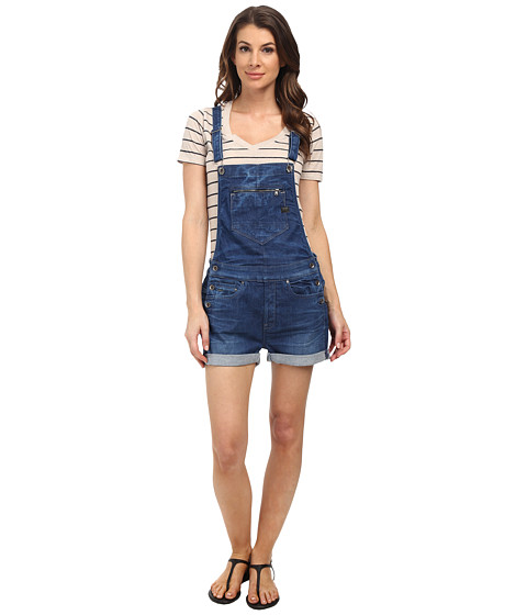G-Star - Midge Overall Short Salopette (Medium Aged) Women's Overalls One Piece