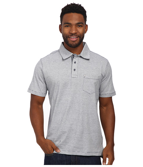 Quiksilver Waterman - Strolo 5 Polo Shirt (Bluefish) Men's Clothing
