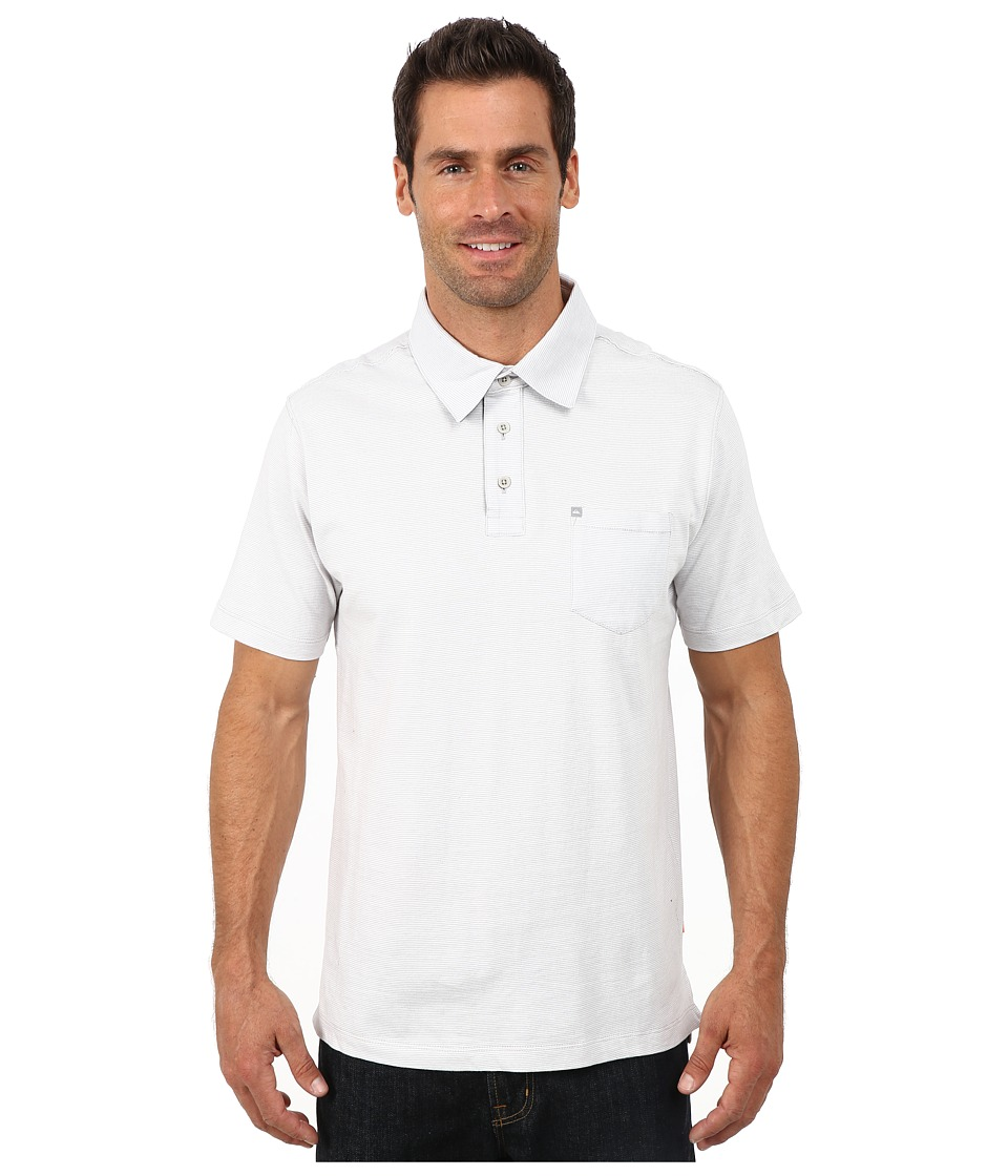 Quiksilver Waterman - Strolo 5 Polo Shirt (Concrete) Men's Clothing