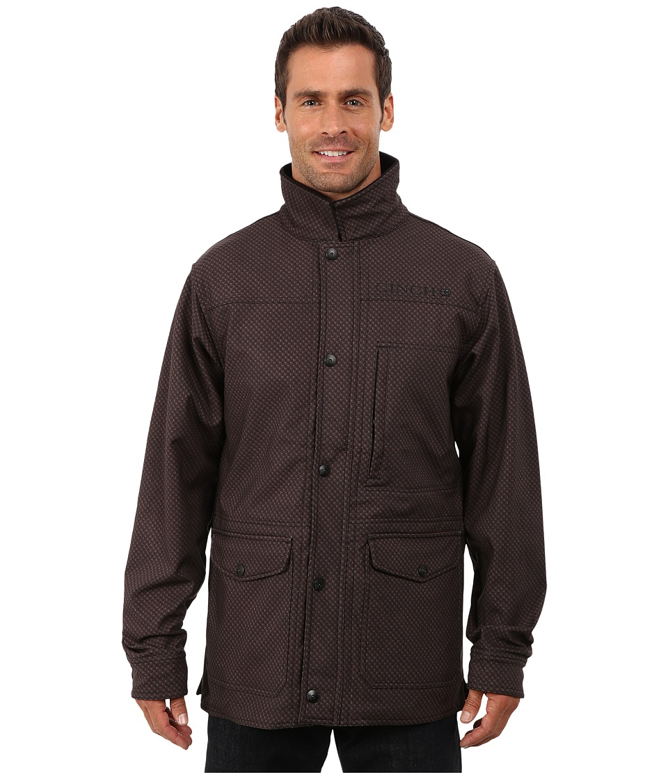 Cinch - 3/4 Length Softshell Bonded (Brown) Men's Clothing