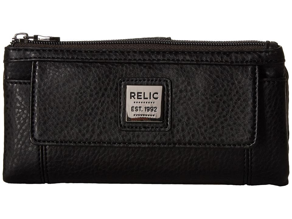Relic - Bryce Checkbook (Black) Checkbook Wallet