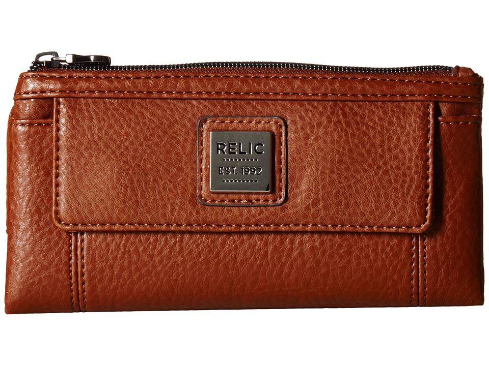Relic - Bryce Checkbook (Saddle) Checkbook Wallet