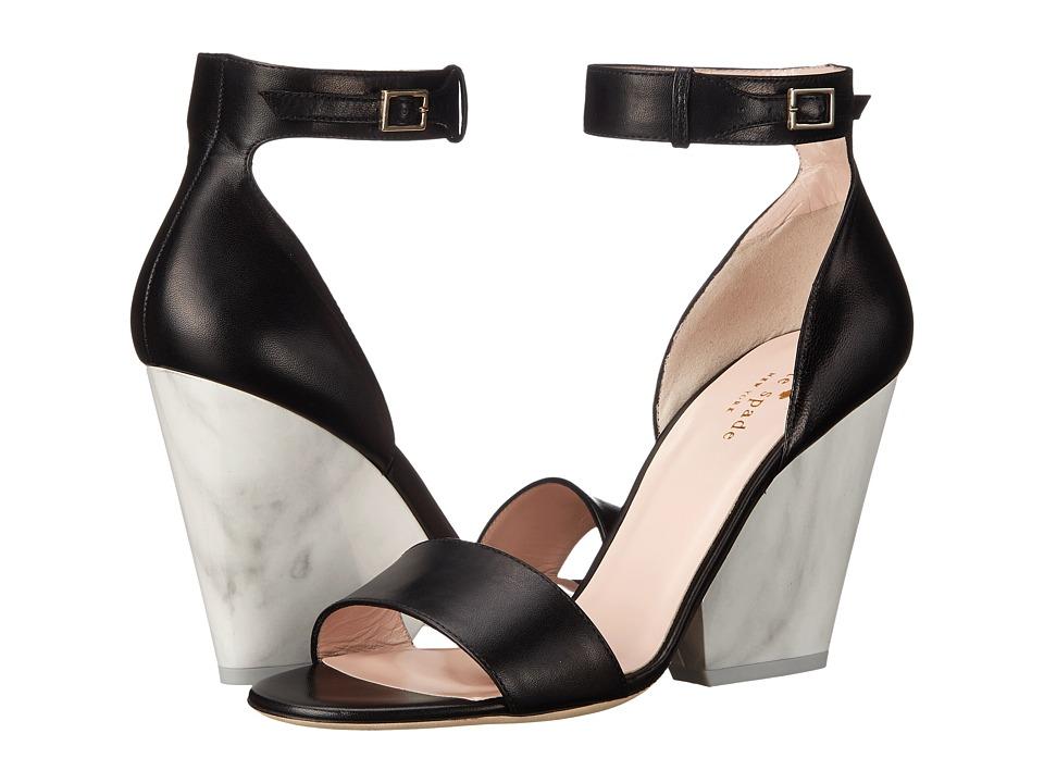 Kate Spade New York - Indiana (Black Nappa) Women's Shoes