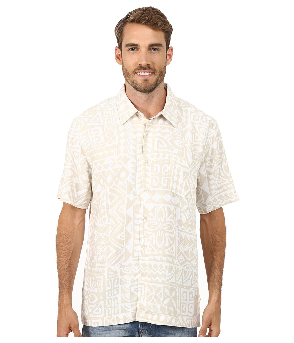 Quiksilver Waterman - Bells Beach Traditional Polynosic Woven Top (Shell) Men's Clothing