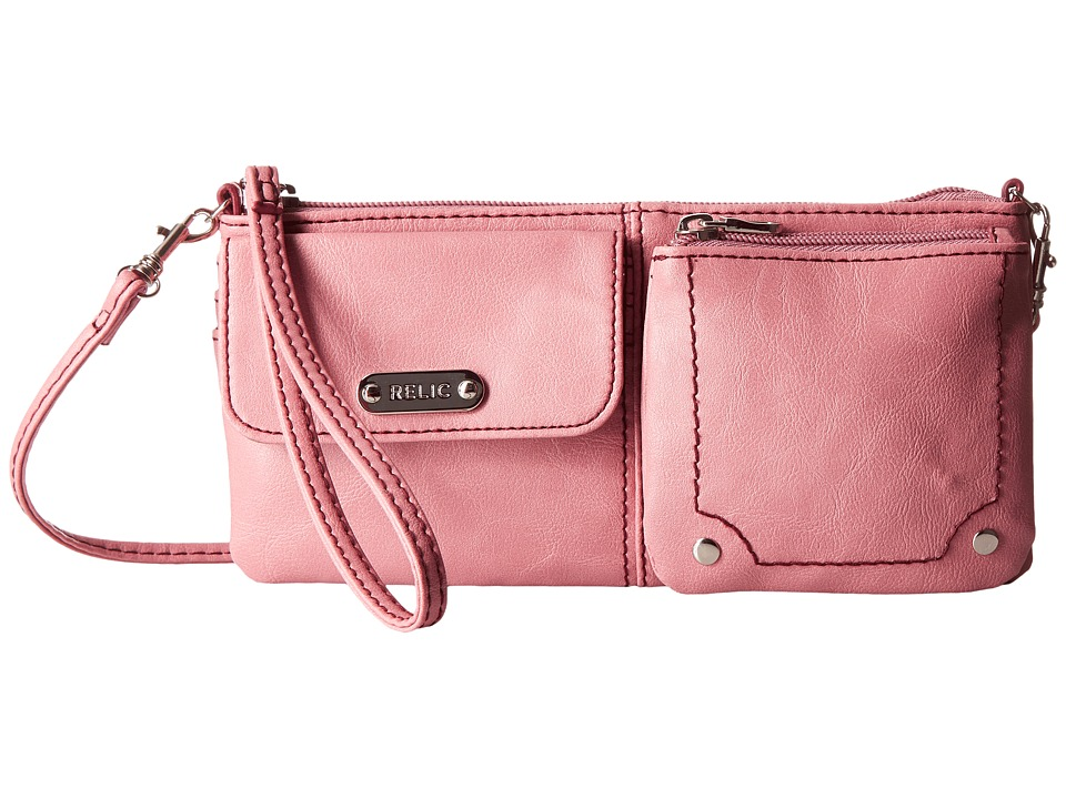 Relic - Evie East West Wristlet (Rose Dust) Wristlet Handbags