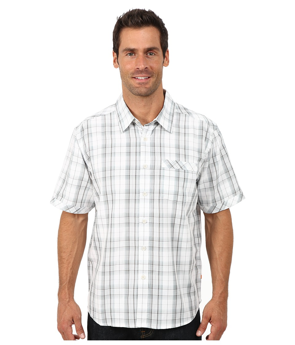 Quiksilver Waterman - Todos Santos Short Sleeve Shirt (Concrete) Men's Clothing