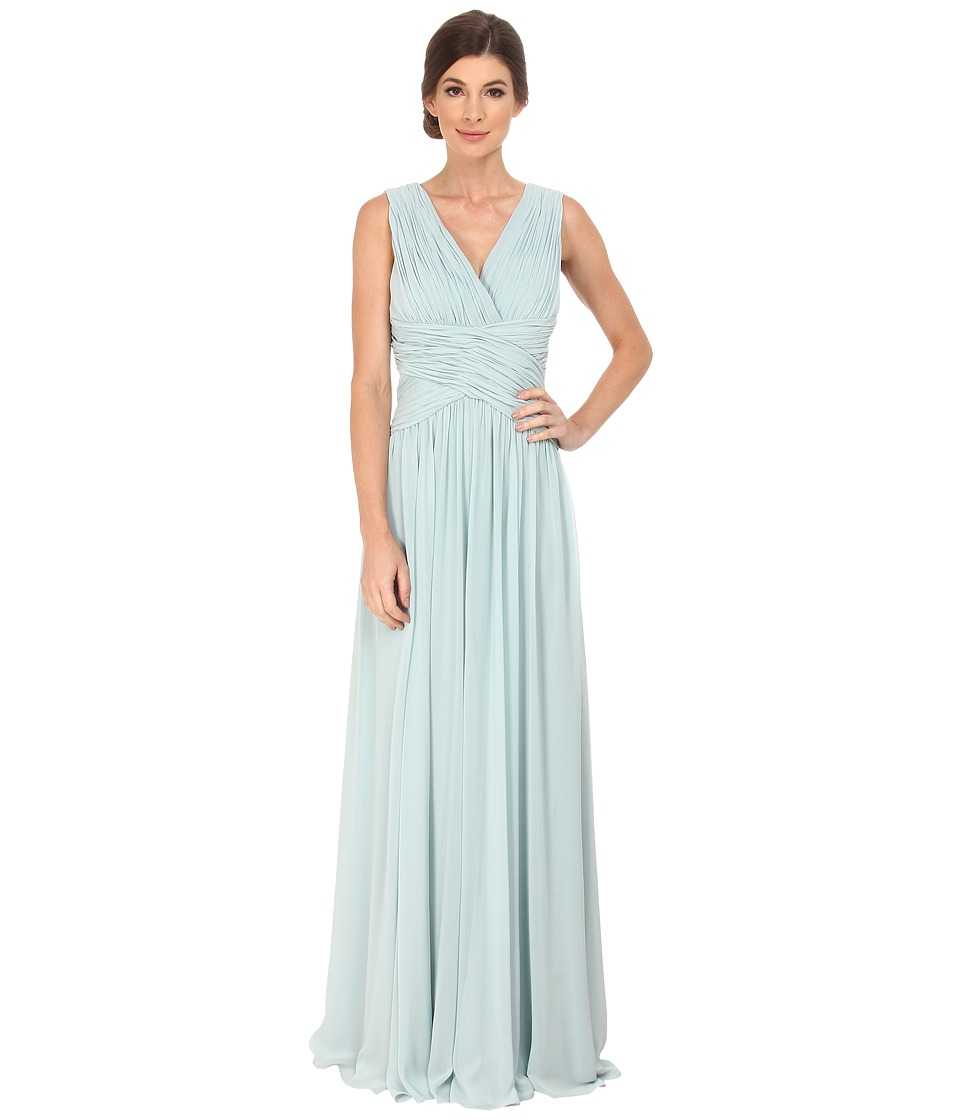 Donna Morgan - Bra Friendly Chiffon (Bella Blue) Women's Dress