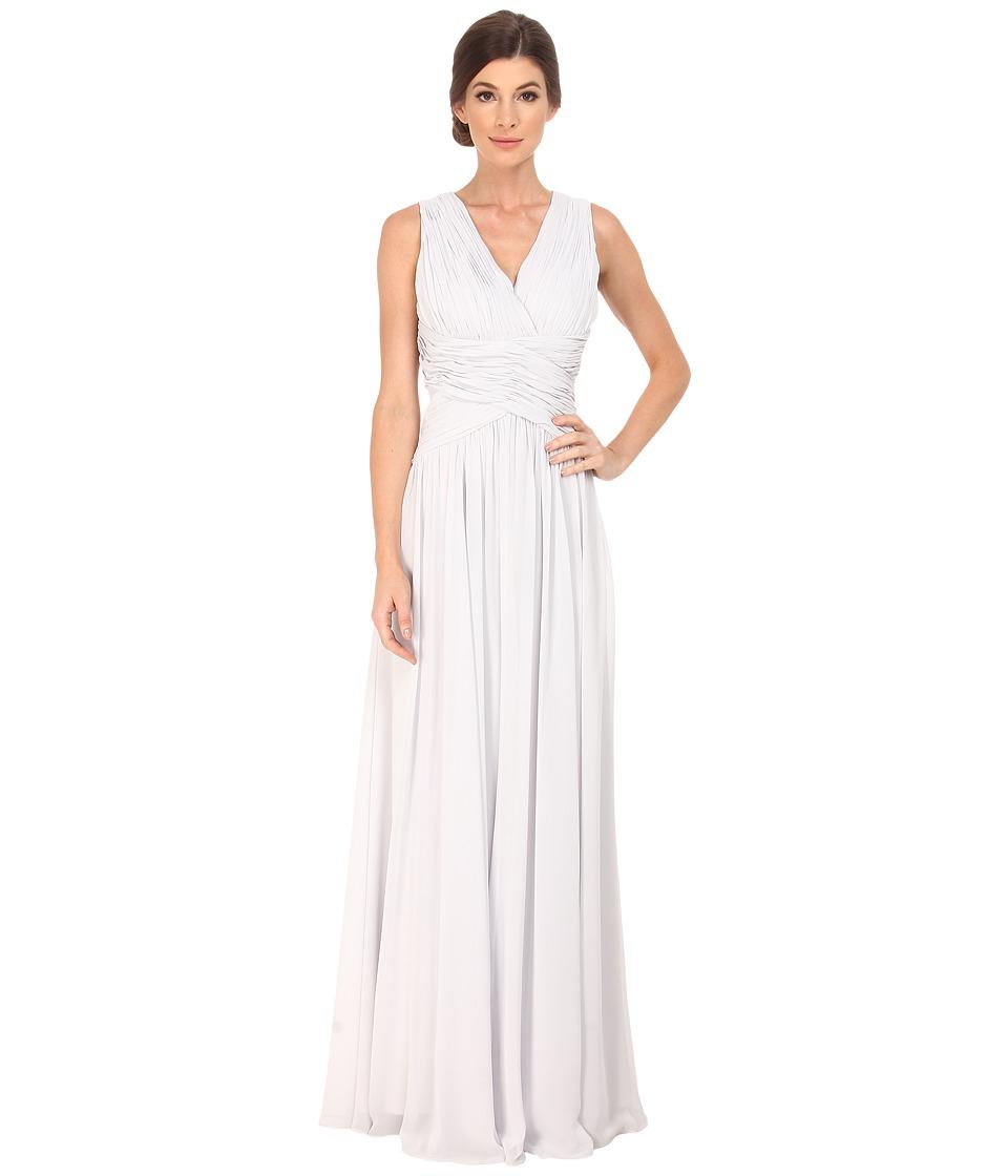 Donna Morgan - Bra Friendly Chiffon (Dove) Women's Dress