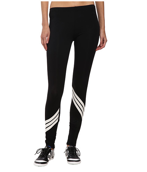 adidas Y-3 by Yohji Yamamoto - Multy Stripe Leggings (Black/Core White) Women's Casual Pants