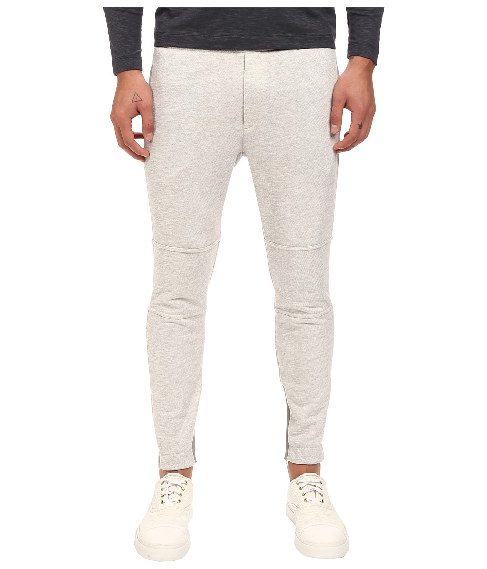 Theory - Dryden.Axis Terry Sweatpants (Light Heather) Men's Casual Pants