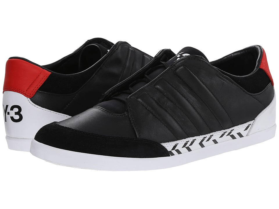 adidas Y-3 by Yohji Yamamoto - Honja Low (Black/Roundel Red) Men's Shoes