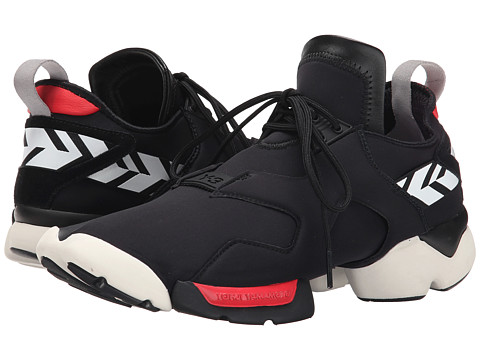 adidas Y-3 by Yohji Yamamoto - Kohna (Black/Roundel Red/White) Shoes