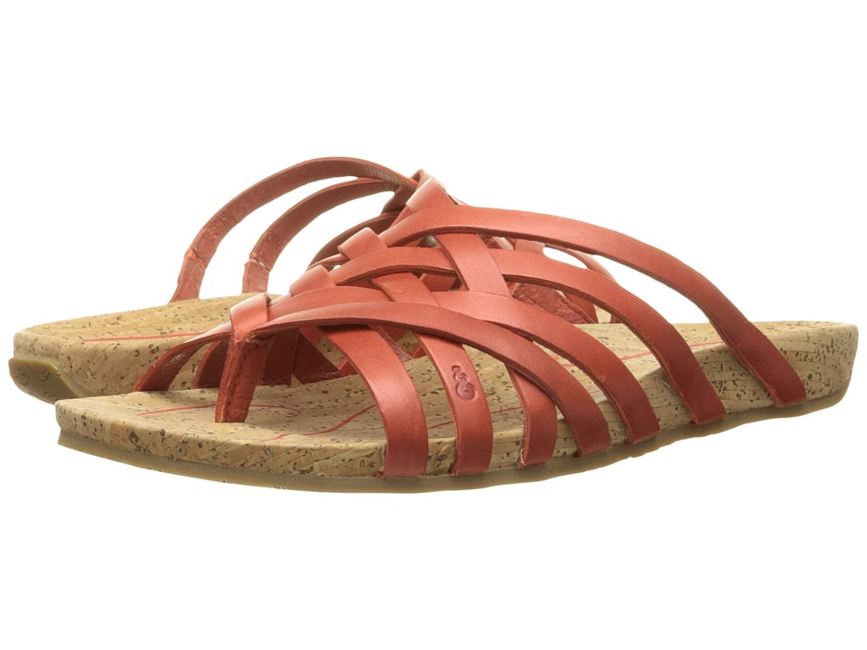 Ahnu - Maia Thong (Red Stone) Women's Shoes