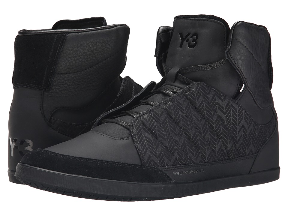 adidas Y-3 by Yohji Yamamoto - Honja High (Black) Men's Shoes