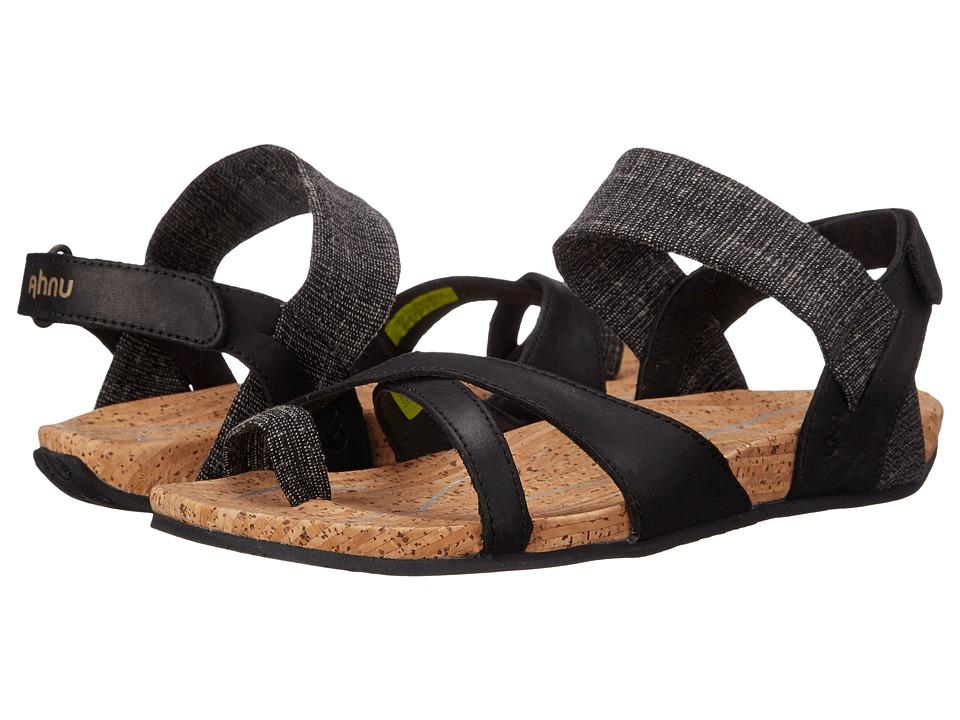 d5173791a6b UPC 888855777144 product image for Ahnu - Sananda (Black) Women s Shoes