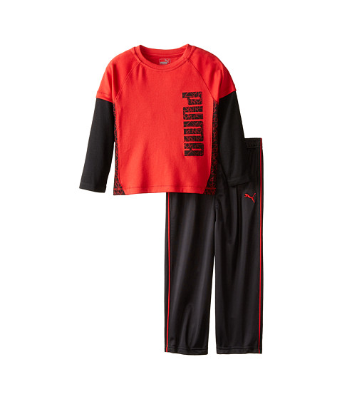 Puma Kids - Two-Piece Set (Toddler) (Star Red) Boy's Active Sets