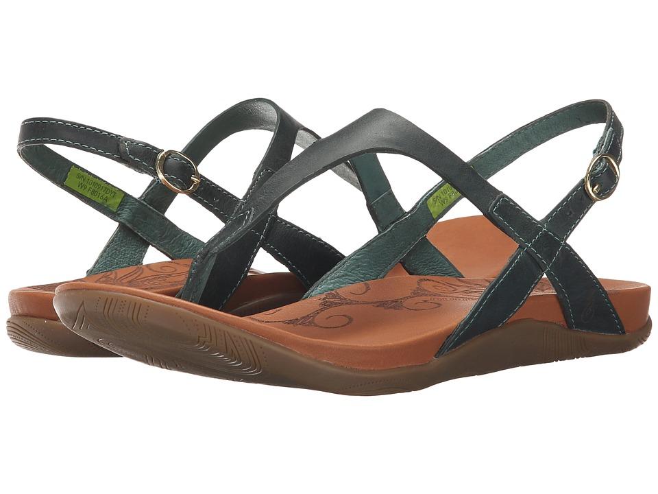 Ahnu - Salena (Dusty Teal) Women's Shoes